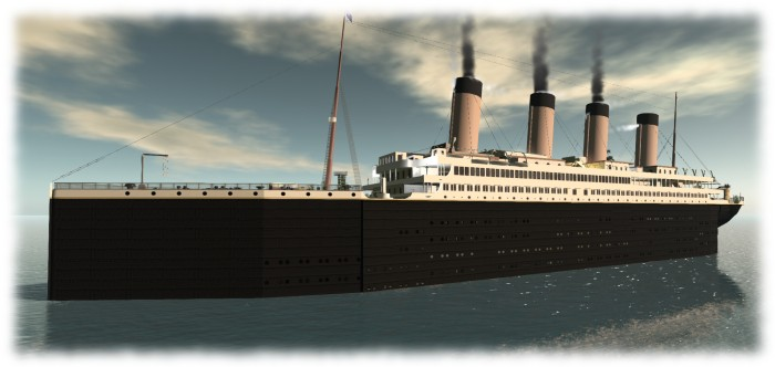 RMS Titanic, another stately 2015 SU2C venue