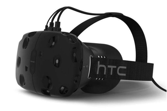 The Vive from HTC: a VR headset developed with Valve - set to rival Oculus Rift in 2016