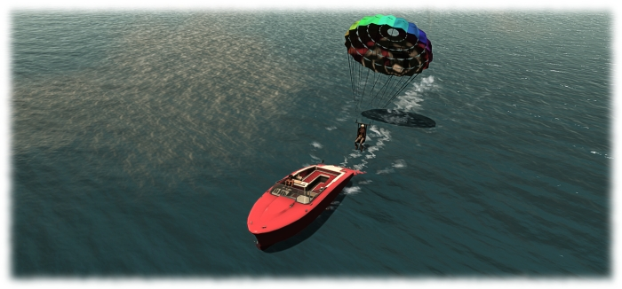 Fancy taking friends parasailing? The Little Bee will let you!