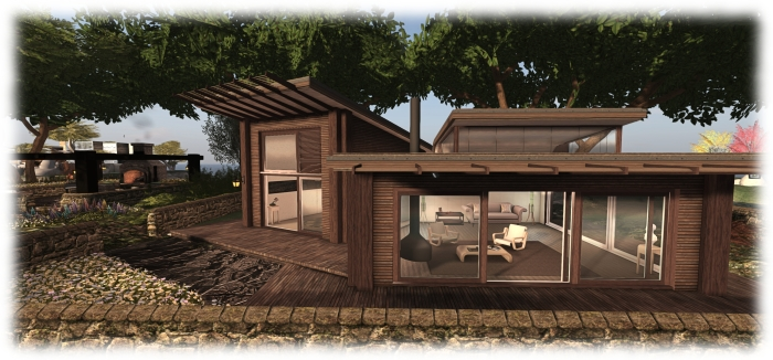 The Skye Luxury Cabin offers  excellent living space
