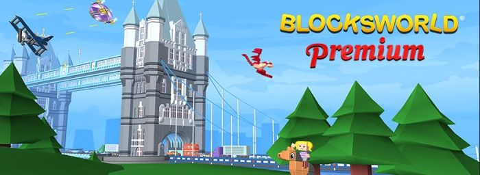 The Blocksworld Premium banner