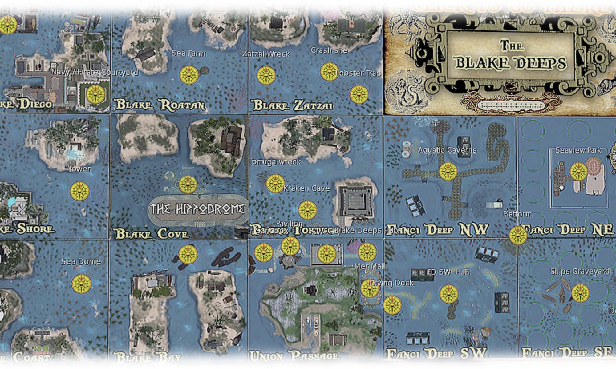 The undersea world of Blake Deeps