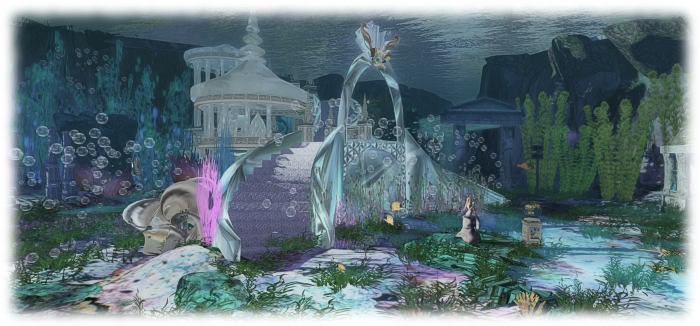 Creations Park Atlantis mermaid cove