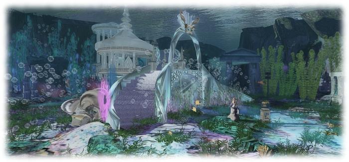Creations Park Atlantis mermaid cove