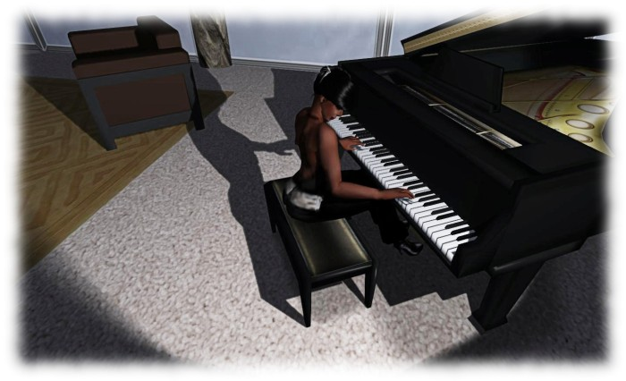 Music is something I enjoy in the physical world and in SL