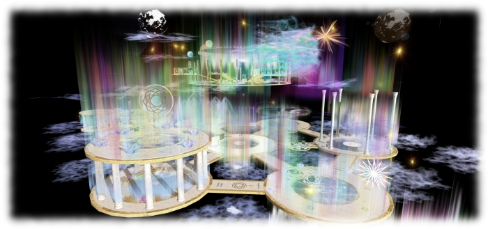 The Creations Park living Light Complex, which will host the Sky Fire performance and Creations' celebration dance