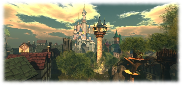 The Spires of Andolys, designed by Jaimy Hancroft, hosts The Origins of Sanctuary: Lut's Story