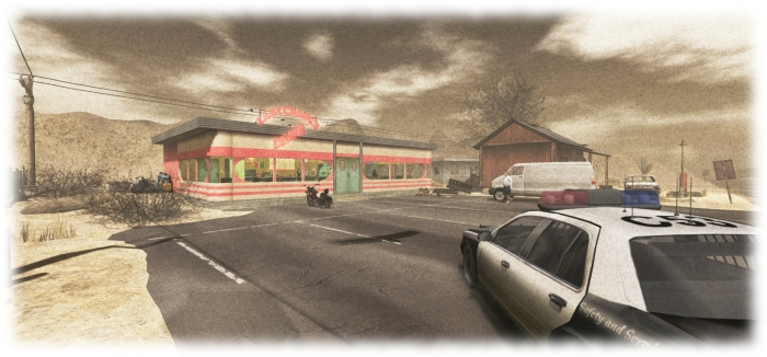 Just how safe is a place called the Last Chance Diner - that's for you to find out when you play UNIA