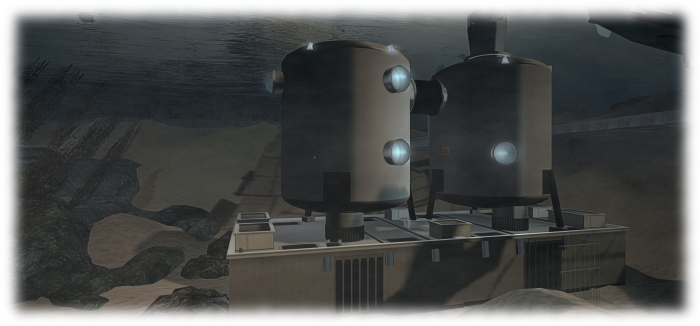 The Tektite underwater habitat at the Abyss Observatory