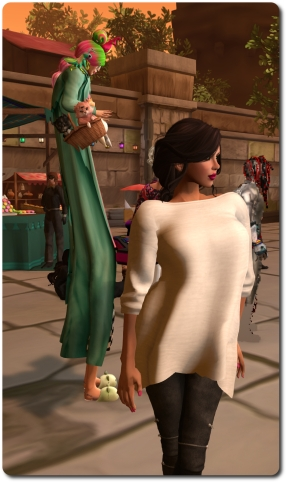 A chic Alexa Linden and a very tall Torley at the last gathering
