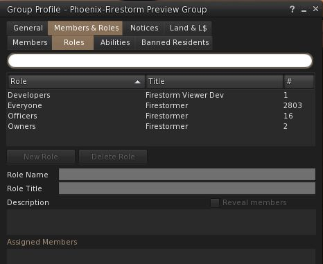 When opening the Members & roles tab in the Group panel for any group, it will default to showing the Roles sub-tab