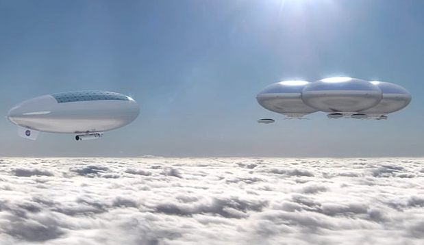 The Langley Reserch Centre team's concept of a permanent human presence in the Venusian atmosphere