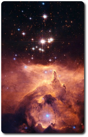 Tur colour images of the star cluster Pismis 24 at the heart of nebula NGC 6357, around 8,000 light years from Earth (image: NASA / ESA and Jesœs Ma­z Apellÿniz, Instituto de astrof­sica de Andaluc­a, Spain)