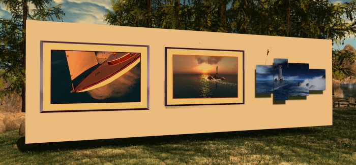 Sail4Life silent art auction for RFL of SL, May 22nd-24th, 2015
