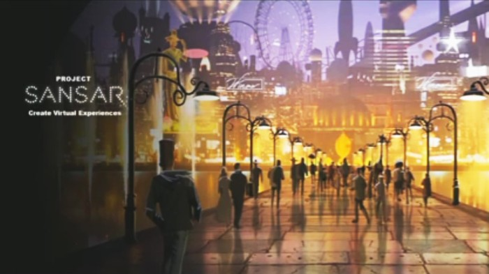 Sansar promo image, courtesy of Linden Lab