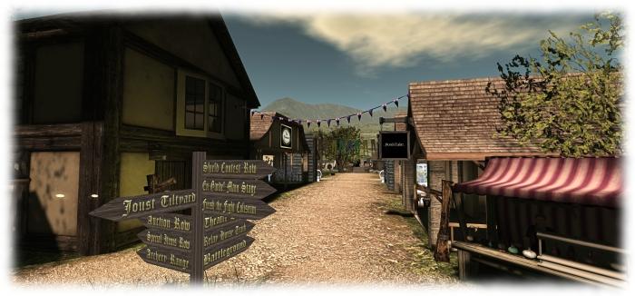 Medieval Faire - the village