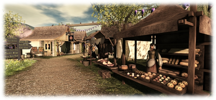 Medieval Faire - NPCs add atmosphere