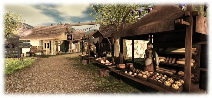 Medieval Faire - NPCs add atmosphere