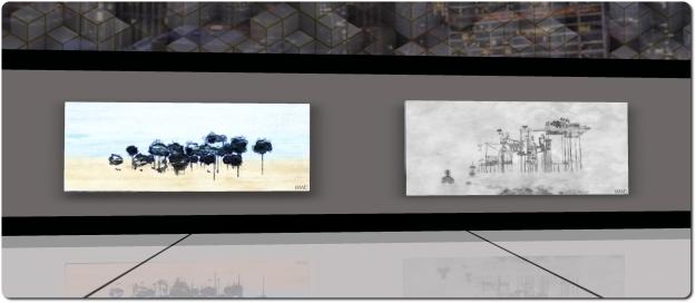 WuWai Chun: Places - Sabra Art Gallery, May 2015