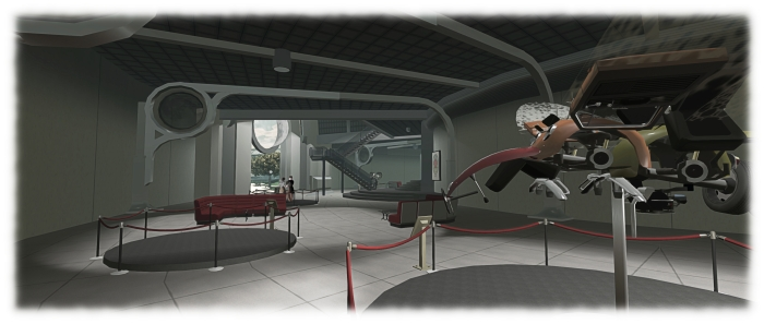 The Dreamitarium lobby area