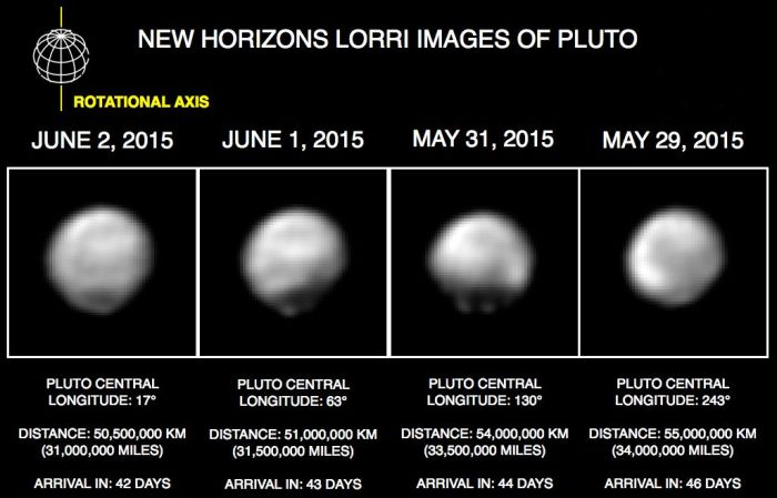 Pluto slowly starts to unmask itself as New horizons approaches