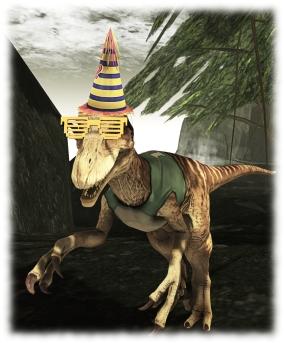 The SL12B raptor avatar: subject of the latest photo contest