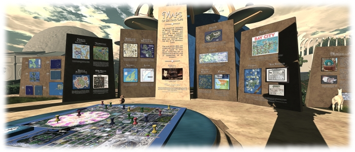Juliana Lethdetter - Second Life Maps