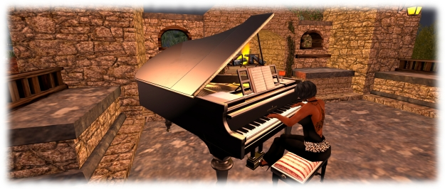 My new LISP grand piano - with thanks to Skate Foss!