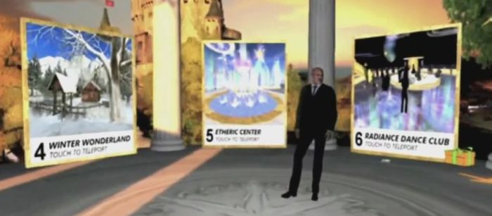 Yes, Dr Phil is shown in-world at places like Creations Park and Mont Saint-Michel, but really, SL is completely secondary to the show's focus