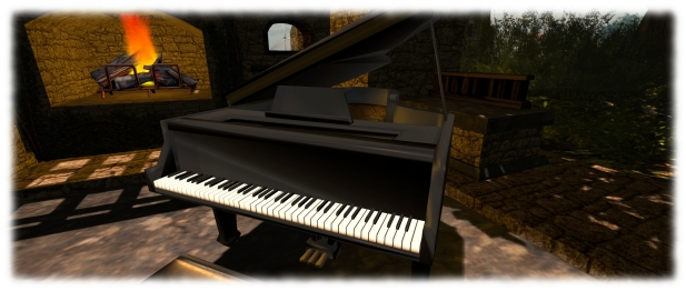 The PrimPossible Concert grand (now available in a new model) is a 1-prim wonder