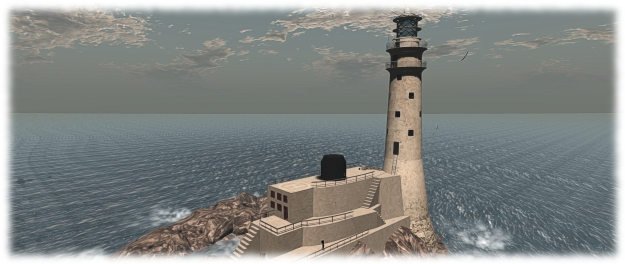The Fastnet Rock Lighthouse, blake Sea Crow's Nest, will form a fitting backdop to the July 4th Sail4Life event