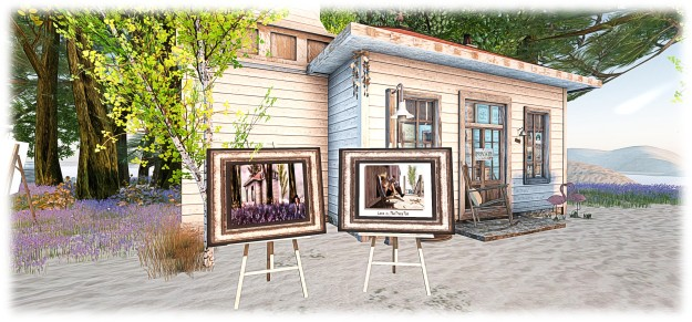 Iamages by Gidgette Adaggio, part of the auction to honour Kyliee Jaxxon at The Trace Too - proceeds to RFL of SL / ACS