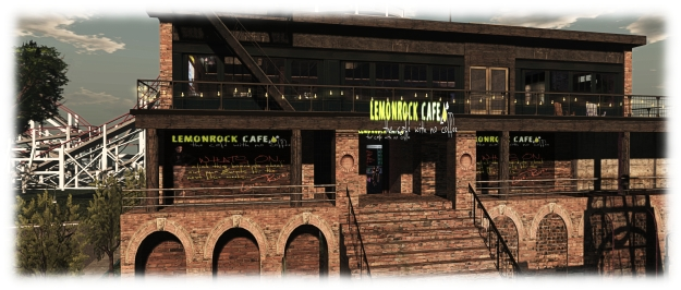 Lemmonrock Cafe, another of the 40+ venues supporting 2015's SL SU2C events