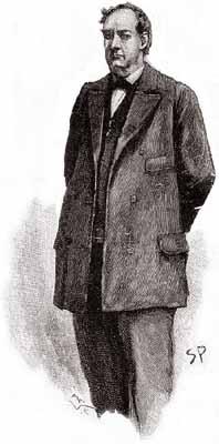 Mycroft Holmes by Sidney Paget, 1893