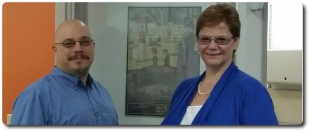 Bill and Jeri Glover: creators of the Bright Canopy service
