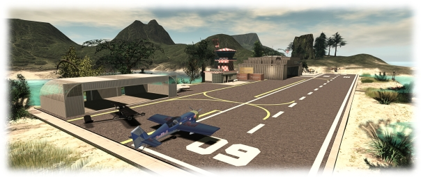 The Firestorm Gateway, part of the new trial Gateway Programme, provides new users with essential orientation in using the viewer and the opportunity to learn about a range of SL activities, such as aviation