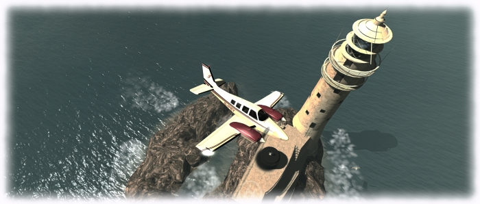 I'm still having a lot of fun flying, sailing, and boating around Second Life -with the DSA G58 Baron being my latest aeroplane acquisition!