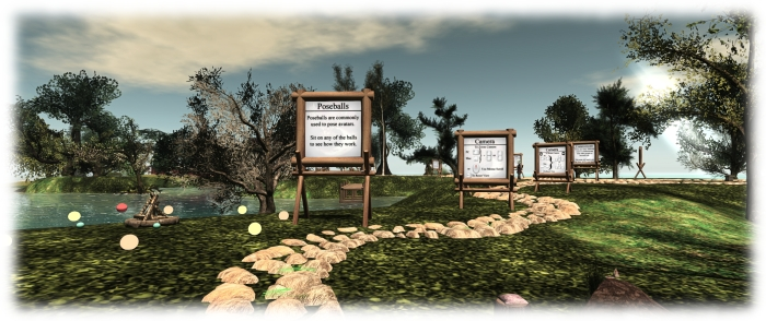 The Firestorm Gateway incorporates their viewer orientation island and includes social areas for users