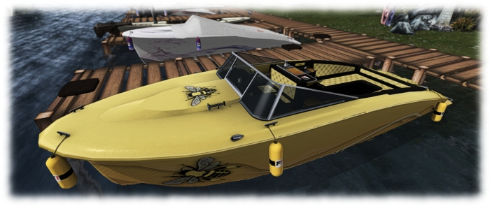 "Neural's ""Honey Bee"" finish for the Little Bee is beautifully reflective of the boat's spirit"
