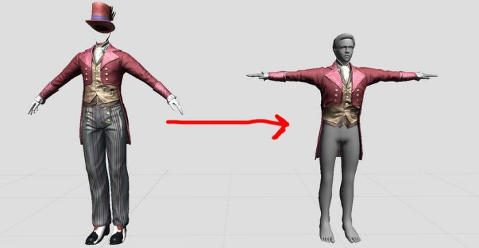 "Among their tool chain - which includes an advanced animation / gesture system - is the ""humanoid resizer"", intended to allow mesh clothing sized for ""poular avatar skeletons"" to be automatically resized to fit the primary Sinewave.space avatar skeleton"
