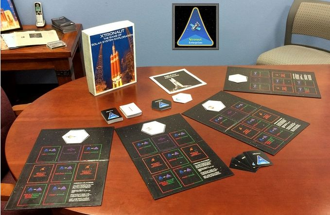 Xtronaut is a card game which allows up to 4 players to undertake unmanned space missions, facing all of the challenges real mission encounter, be they technical, physical or political. the goal: help raise awareness of the OSIRIS-REx mission and fund direct EPO activities related to it