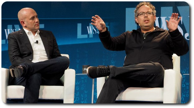 Romy Abovitz talks Magic Leap at WSJD Live (image courtesy of engagdet)