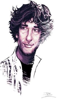 Neil Gaiman (via jeffzachowski on Deviant Art)