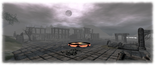 The Firestorm Halloween Party stage area