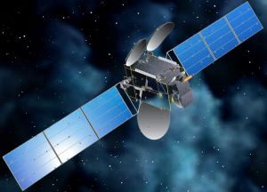 An artist's impression of Intelsat 7, one of two private sector communications satellites subjected to scrutiny by an uncrewed Russian space vehicle (image: SSL, prime contractors for the Intelsat 7 vehicle)