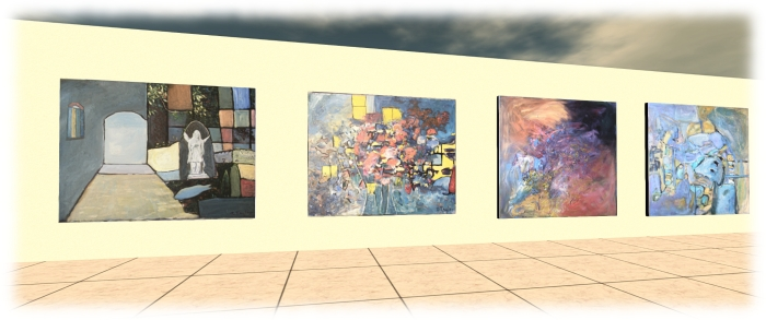 The P2P Foundation gallery features the work of disabled artists, all of which is available to buy, the proceeds of sales going to the Foundation's work