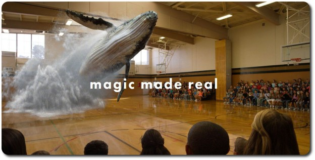 Magic Lap's website splash screen (no pun intended)