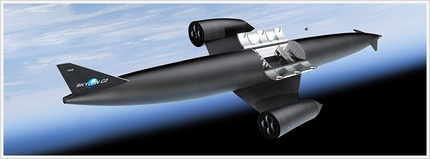 REL propose using the SABRE engine in their Skylon spaceplane capable of lifting up to 15 tonnes (cargo or 24 passengers) into orbit. however, the engine has many potential uses, hence the interest from BASE Systems and the UK government (image: REL)