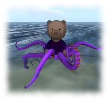 To mark Project Bento, Alexa Linden has updated her Linden Bear, now available on the Marketplace