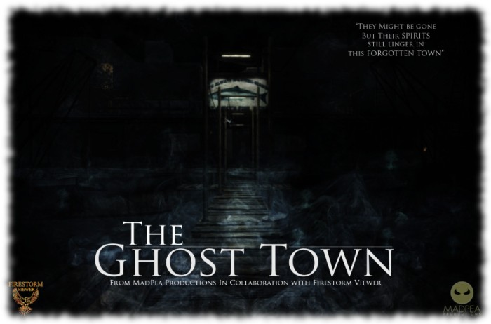 The Ghost Town - A new MadPea game aimed at new SL users, launching soon at the Firestorm Gateway